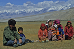 Mountain Family on Karakoram Highway, Tashkurgan, China