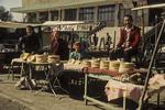 Selling Nan Bread, Kashgar, China