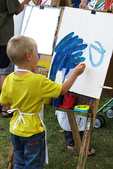 Young Artist, Art in the Park, Appleton, Wisconsin