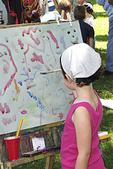 Girl Painting, Art in the Park, Appleton, Wisconsin