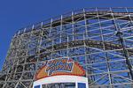 Zippin Pippin Roller Coaster Ride, Bay Beach Amusement Park, Green Bay, Wisconsin