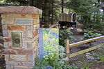 Creative Books Sign at Bookworm Gardens, Sheboygan, Wisconsin