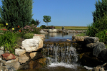 Waterfall at Wander Springs Golf Course, Wayside, Wisconsin