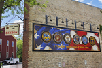 Plymouth Military History Mural, Plymouth, Wisconsin