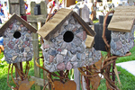 Birdhouses for Sale, Farmer's Market, Appleton, Wisconsin