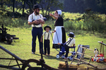 Amish Family at Auction, Bonduel, Wisconsin