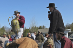 Amish Yard Auction and Auctioneer, Bonduel, Wisconsin
