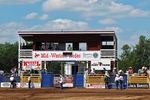 Mid-Western Rodeo with Cowboys, Manawa, Wisconsin