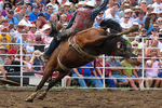 Saddle Bronc Riding, Mid-Western Rodeo, Manawa, Wisconsin