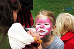 Face Painting at Faire, Renaissance Faire, County of Brown, De Pere, Wisconsin