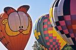 Hot Air Balloons at EAA, Oshkosh, Wisconsin