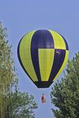Hot Air Balloon Over the Trees at EAA, Oshkosh, Wisconsin