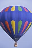 Hot Air Balloon in Sky at EAA, Oshkosh, Wisconsin