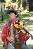 Musician at Bristol Renaissance Faire, Bristol, Wisconsin