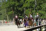 Knights Arrival at Bristol Renaissance Faire, Bristol, Wisconsin