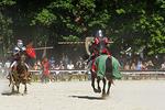 Knights in Battle at Bristol Renaissance Faire, Bristol, Wisconsin