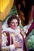 Queen Elizabeth at the Bristol Renaissance Faire, Bristol, Wisconsin