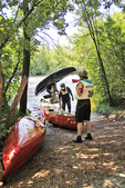 Taking Out The Canoes, Wausau, Wisconsin