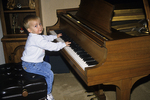 Austin Playing at the Piano, Appleton, Wisconsin