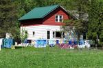 Amish Farmhouse and Laundry, Monroe County, Wisconsin