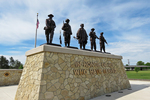 Commemorative Statues for Veterans, Fort McCoy, US Army, Sparta, Wisconsin