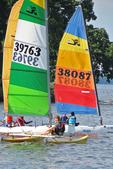 Sailboats on Lake Winnebago, Menominee Park, Oshkosh, Wisconsin