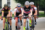 Bike Race with Girls, Menasha, Wisconsin