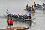 Half Moon Dragon Boat Festival Teams Coming To Shore, Half Moon Beach, Eau Claire, Wisconsin