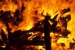 Bonfire, Sister Bay, Door County, Wisconsin