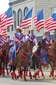 Flag Day Parade Riders, Appleton, Wisconsin