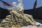 Vietnam Statue and Wall, Wisconsin Rapids, Wisconsin