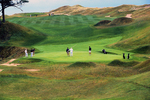 Golfers Playing at Whistling Straits Golf Course, Kohler, Haven, Sheboygan, Wisconsin