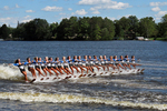 Wisconsin Rapids Waterski Show Competition at Tomahawk, Wisconsin