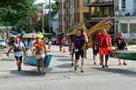Climbing the Hill with Canoes, Paddle & Portage Event, Madison, Wisconsin