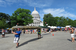 Portage Around Capitol and Farmer's Market, Paddle & Portage Event, Madison, Wisconsin