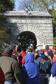 Camp Randall Gate with Football Fans, UW-Madison, Madison, Wisconsin