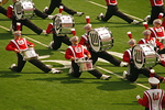 UW-Madison Marching Band Entertaining Fans at Camp Randall Football Game, Madison, Wisconsin