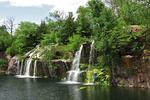 Waterfalls at Daggett Park, Montello, Wisconsin
