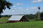 Amish Farm in Vernon County, Wisconsin