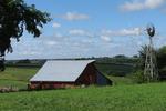 Amish Farm in Vernon County, Wisconsin