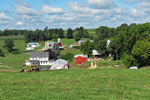 Amish Farms in Vernon County, Wisconsin