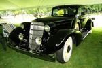 Vintage 1935 Cadillac Under Tent, Appleton Old Car Show & Swap Meet, Appleton, Wisconsin