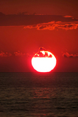 Sinking Sun at Sunset Resort, Washington Island, Door County, Wisconsin