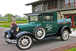 Island Lavender Company and Historic Dairy Old Car, Washington Island, Door County, Wisconsin