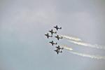 Canadian Snowbirds Show, EAA, Air Venture Show, Oshkosh, Wisconsin