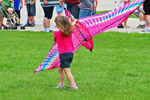 Carrying the Kite, Kite Festival, EAA, Oshkosh, Wisconsin