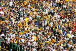Green Bay Packer Fans Before Game at Lambeau Field, Green Bay, Wisconsin