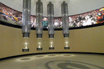 Super Bowl Trophies, Green Bay Packer Hall of Fame, Lambeau Field, Green Bay, Wisconsin