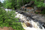 Daves Falls, Marinette County Park, Amberg, Wisconsin