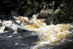 Horseshoe Falls, Dunbar, Marinette County, Wisconsin